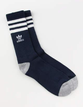 adidas Stripes Roller Mens Crew Socks