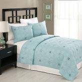 Bed Bath & Beyond Alena Quilt, 100% Cotton - Slate