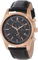 Lucien Piccard Men's LP-11570-RG-01 Eiger Leather Watch