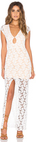 Nightcap Clothing Teardrop Lace Maxi Dress