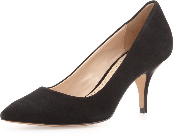 Pour La Victoire Isa Suede Dress Pump, Black