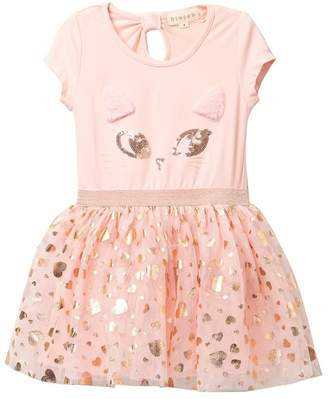 Btween Kitty Tutu Dress (Toddler & Little Girls)