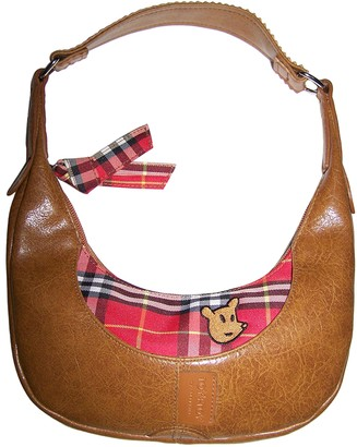 JC de CASTELBAJAC Camel Leather Handbags