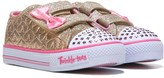 Skechers Kids' Twinkle Toes Starlight Style Sneaker Toddler