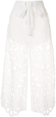 Alice McCall embroidered Baudelaire culottes