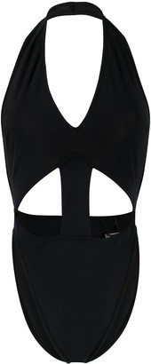 Rick Owens Cut Out Detail Swimsuit