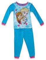 Disney Frozen Size 2T 2-Piece Pajama Set in Blue