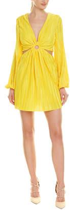 Ronny Kobo Cut-Out Mini Dress
