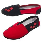 Batman Harley Quinn Womens/Juniors Slip On Shoes