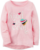 Carter's Kind Is Cool Graphic-Print Cotton T-Shirt, Little Girls (2-6X) and Big Girls (7-16)