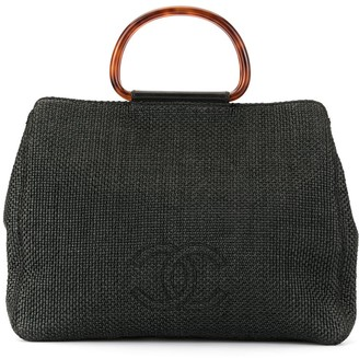 Chanel Pre-Owned 1998's tortoiseshell handle tote