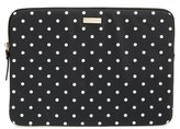 Kate Spade 'Classic Nylon - Mini Pavilion' Laptop Sleeve - Black