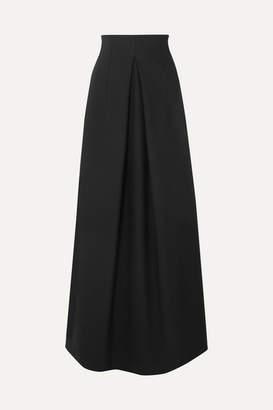 The Row Tessy Wool-blend Maxi Skirt - Black