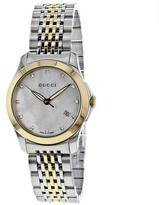 Gucci G-Timeless Collection YA126513 Women's Stainless Steel Watch