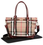 Burberry Marta Check Diaper Bag
