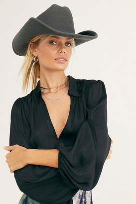 Free People Cash Cowboy Hat
