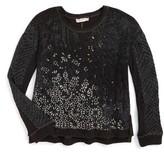 Miss Me Girl's Graphic Sweatshirt