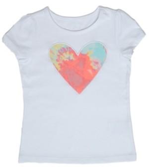 Epic Threads Little Girls Tie Dye Heart T-shirt