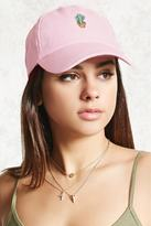 Forever 21 FOREVER 21+ Cactus Embroidered Dad Cap