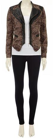Dorothy Perkins Brown double collar jacket