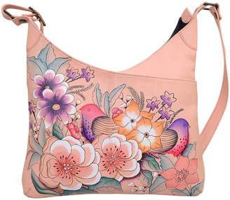 Anuschka Anna By Anna by Women's Handbags Vintage - Vintage Garden Hand-Painted Leather Hobo