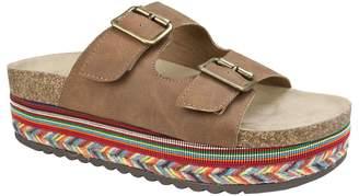 Seven Dials Espadrille Slide Sandals - Beverlyn
