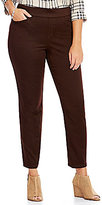 Intro Plus Sheri Pull-On Straight Leg Pintuck Pant