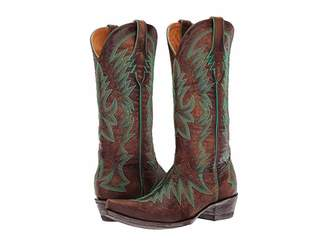 Old Gringo Moreen (Brass) Cowboy Boots