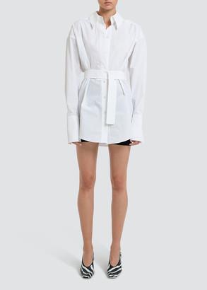 GAUGE81 Patras Belted Menswear Shirt Dress