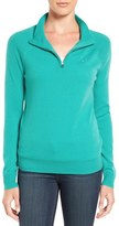 Vineyard Vines Women's Wool & Cashmere Quarter Zip Pullover