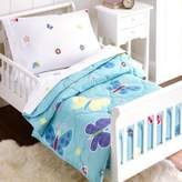 Olive Kids Butterfly Garden 4-Piece Toddler Bedding Set in Blue