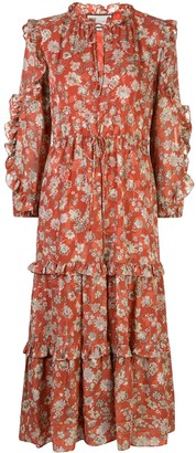 Alexis Auja floral-print dress