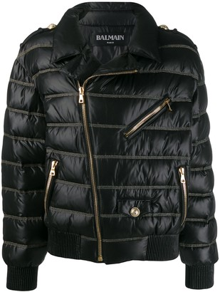 Balmain Quilted Down Jacket