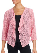 Ruby Rd Rosette Lace Cardigan