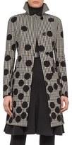 Akris Punto Women's Houndstooth & Dot Print Coat