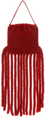 Bottega Veneta The Fringe Pouch Shoulder Bag
