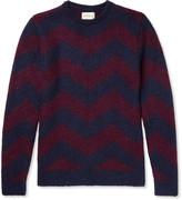 Oliver Spencer Blenheim Jacquard-Knit Wool-Blend Sweater