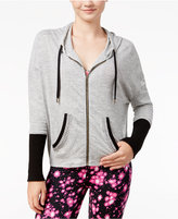 Material Girl Active Junior's Embellished Hoodie, Only at Macy's