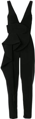 Azzi & Osta Sleeveless Ruffle Jumpsuit