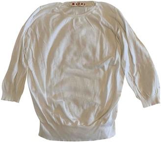 Marni White Cotton Tops