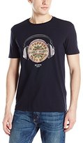 Ben Sherman Men's the Beatles Lonely Hearts T-Shirt