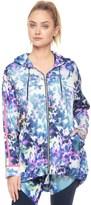 Juicy Couture Sport Floral Glow Printed Vinyl Jacket