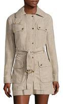 MICHAEL Michael Kors Linen Utility Coat