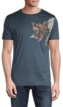 Antony Morato Leaf Graphic Jersey T-Shirt