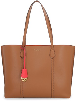 Tory Burch Perry Saffiano Leather Tote Bag
