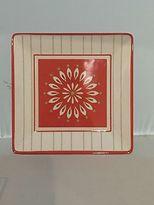 Martha Stewart Collection Everyday Melamine Collection Pinwheel Salad Plate