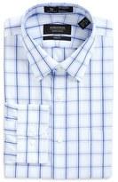 Nordstrom Men's Smartcare(TM) Trim Fit Plaid Dress Shirt