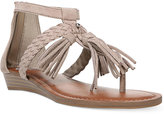 Fergalicious Tanya Fringe Sandals Women's Shoes