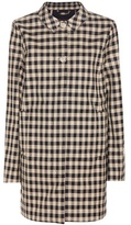 Woolrich Gingham cotton coat