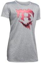 Under Armour Girls' UA Softball Logo T-Shirt